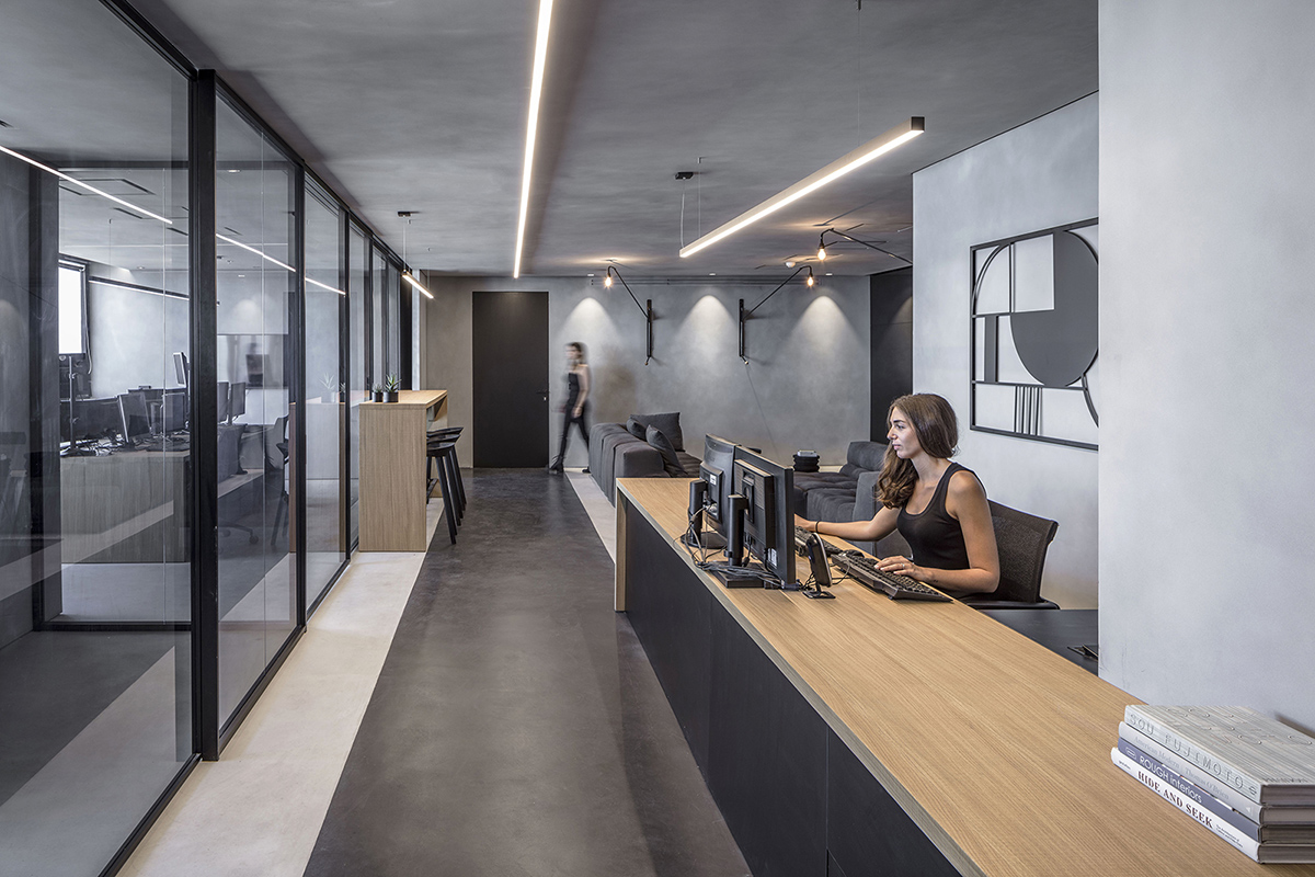 Inside Financial Company Offices in Tel Aviv