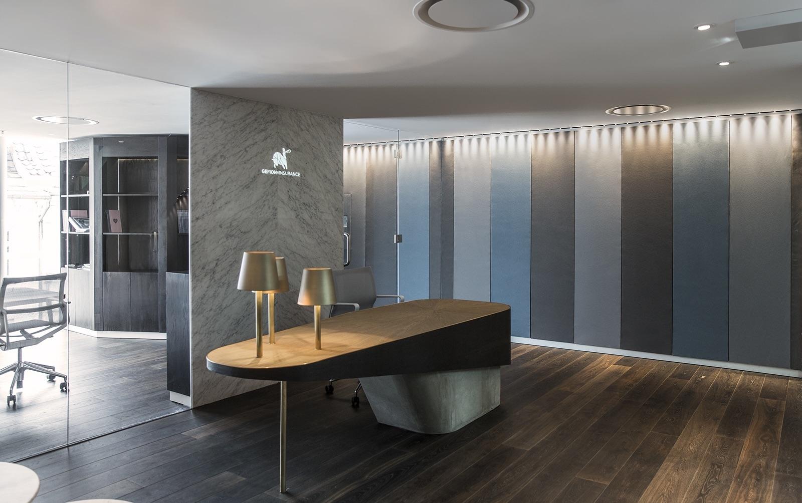 A Look Inside Gefion Insurance's Copenhagen HQ