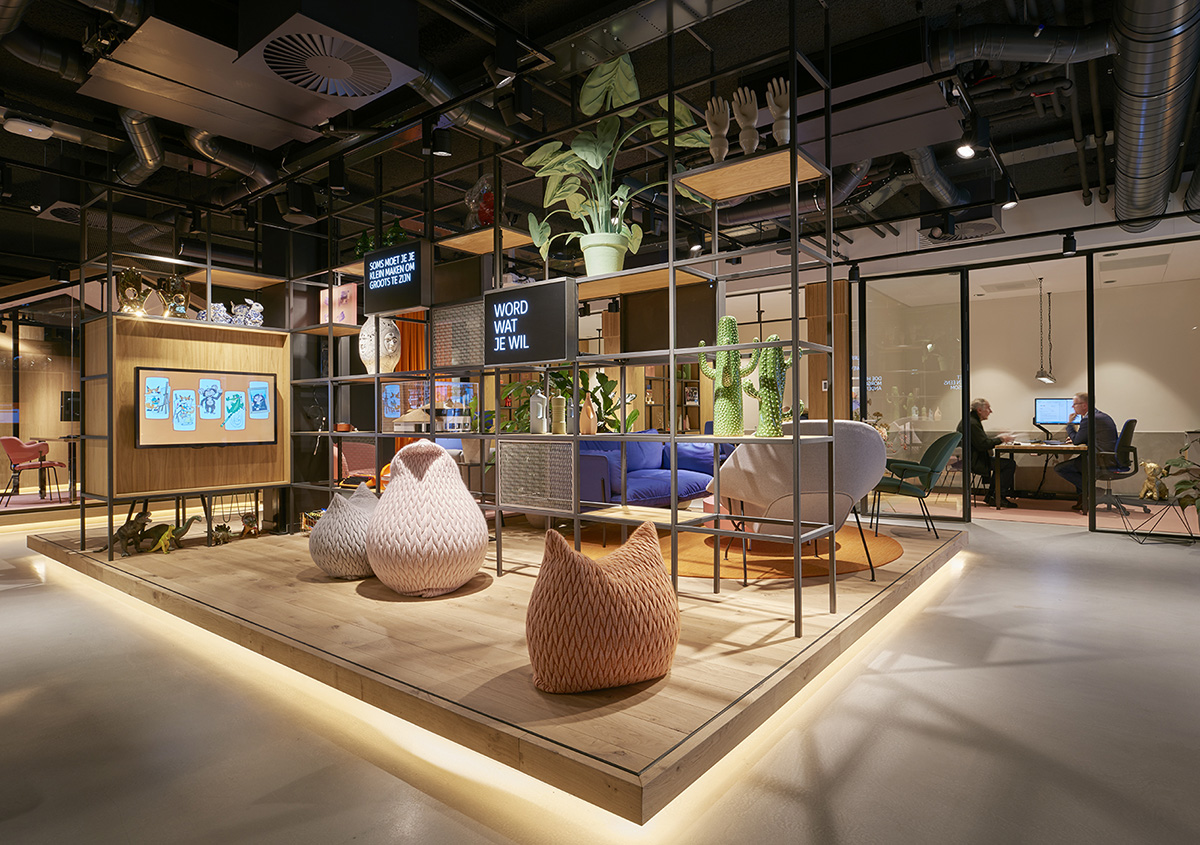 A Look Inside ING's New Office in Leeuwarden