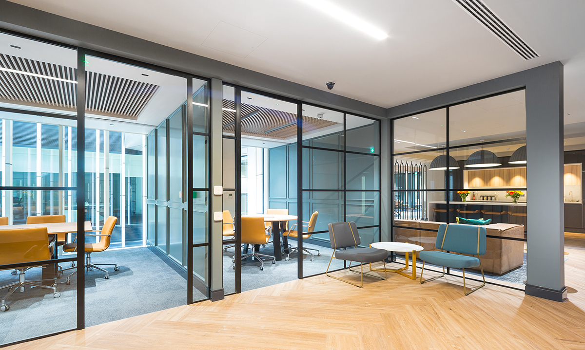 A Look Inside Landmark's Modern London Workspace