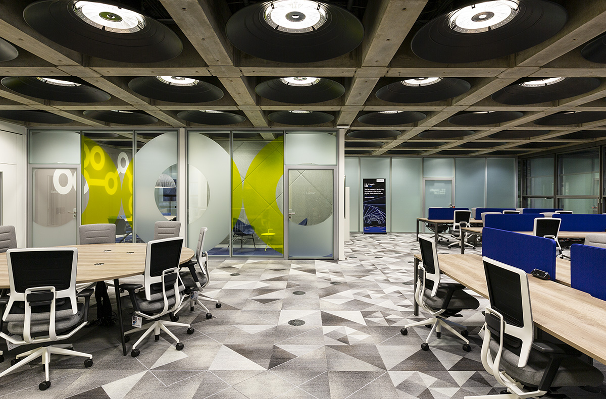 Inside Lloyd's Innovation Lab & Workspace in London