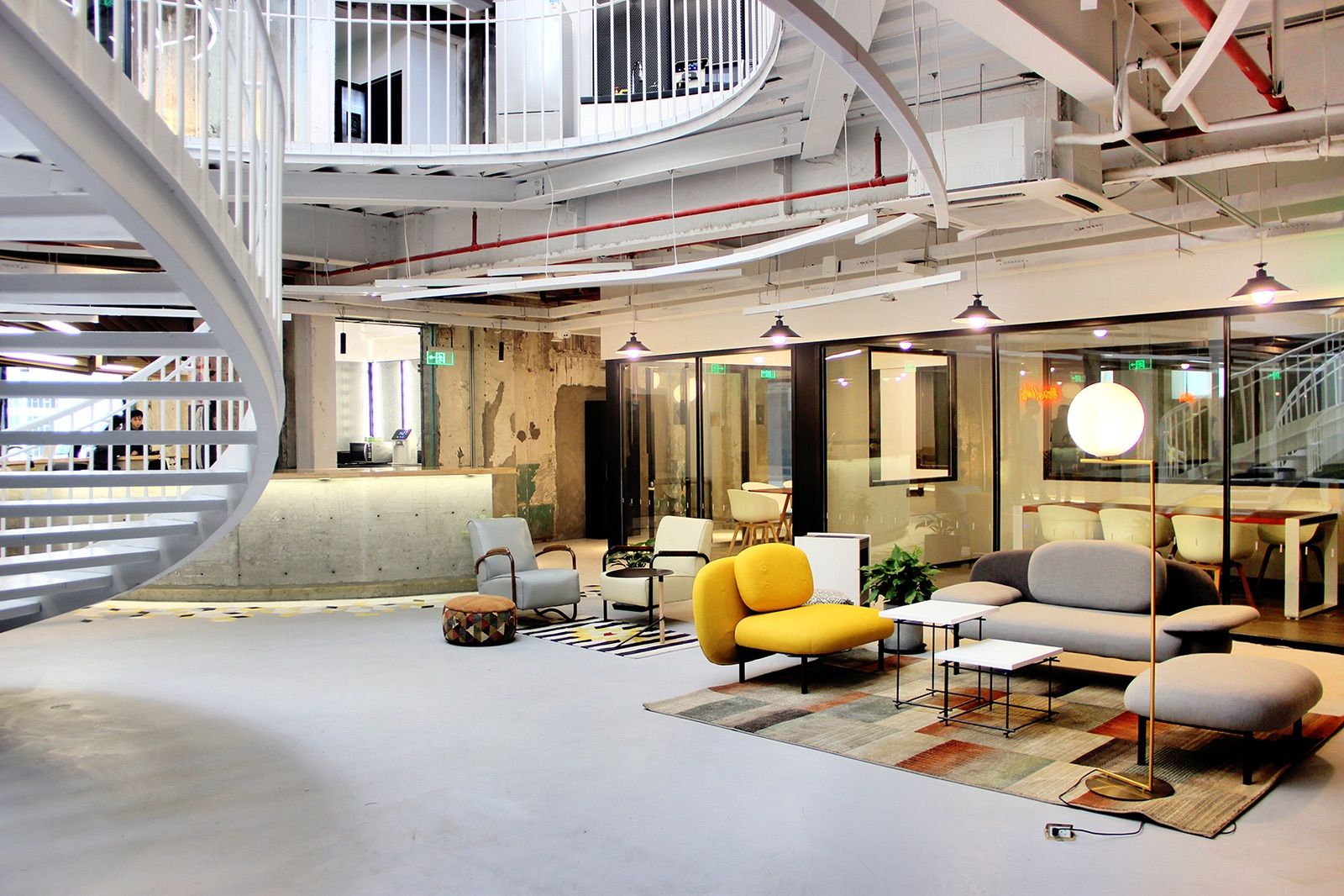 A Tour of Mixpace's Shanghai Coworking Space – Mandela
