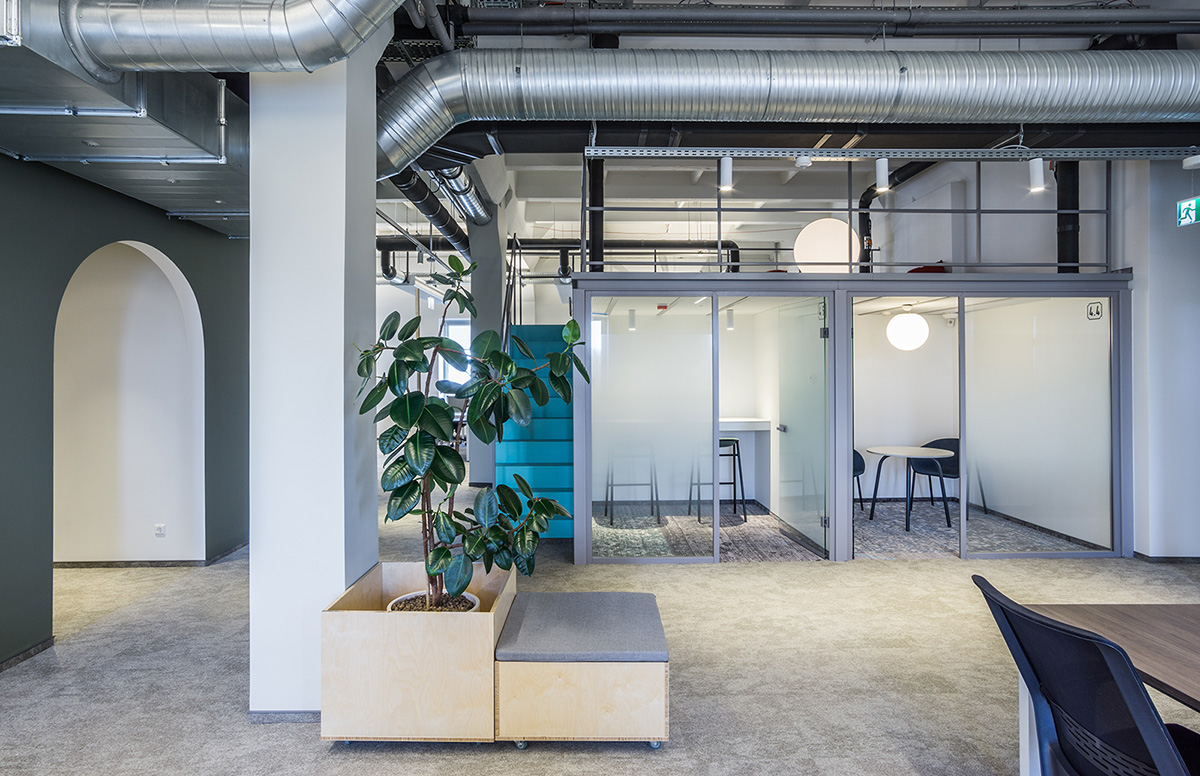 Inside The New Offices of Telia in Lithuania