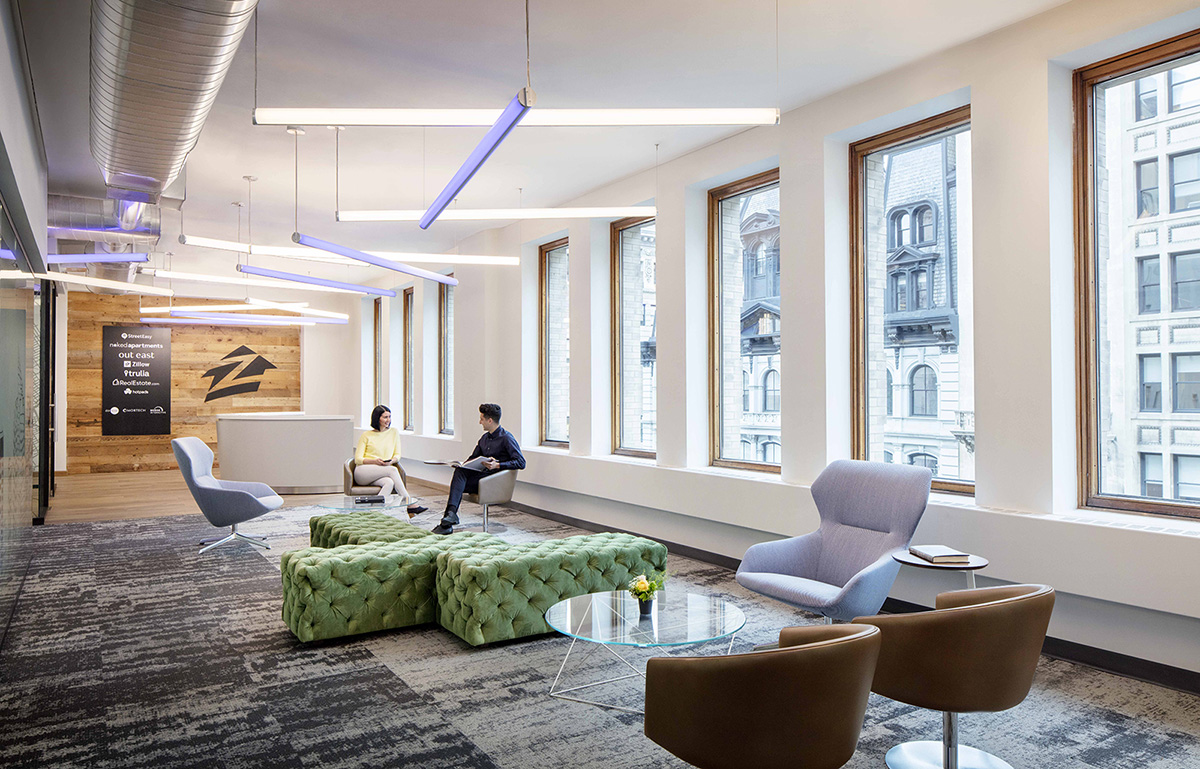 A Look Inside Zillow Group's New NYC Office