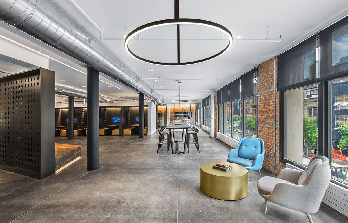 A Tour of Argo Group's Modern NYC Office