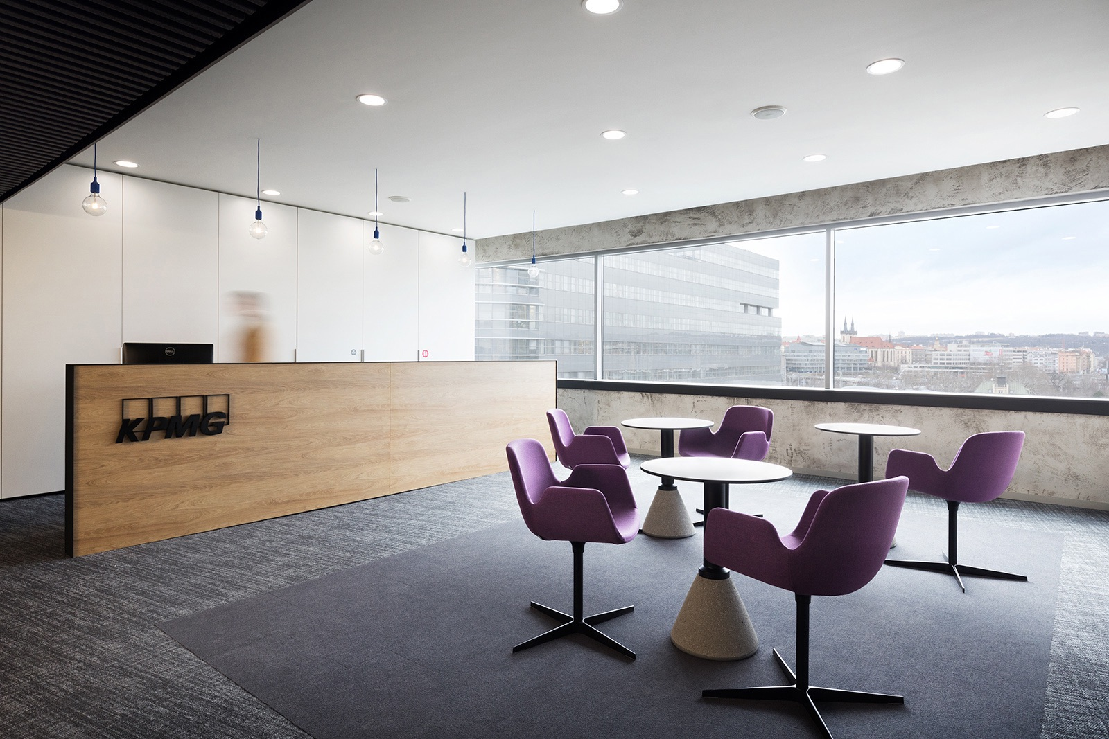 A Look Inside KPMG's Modern Prague Office - Officelovin'
