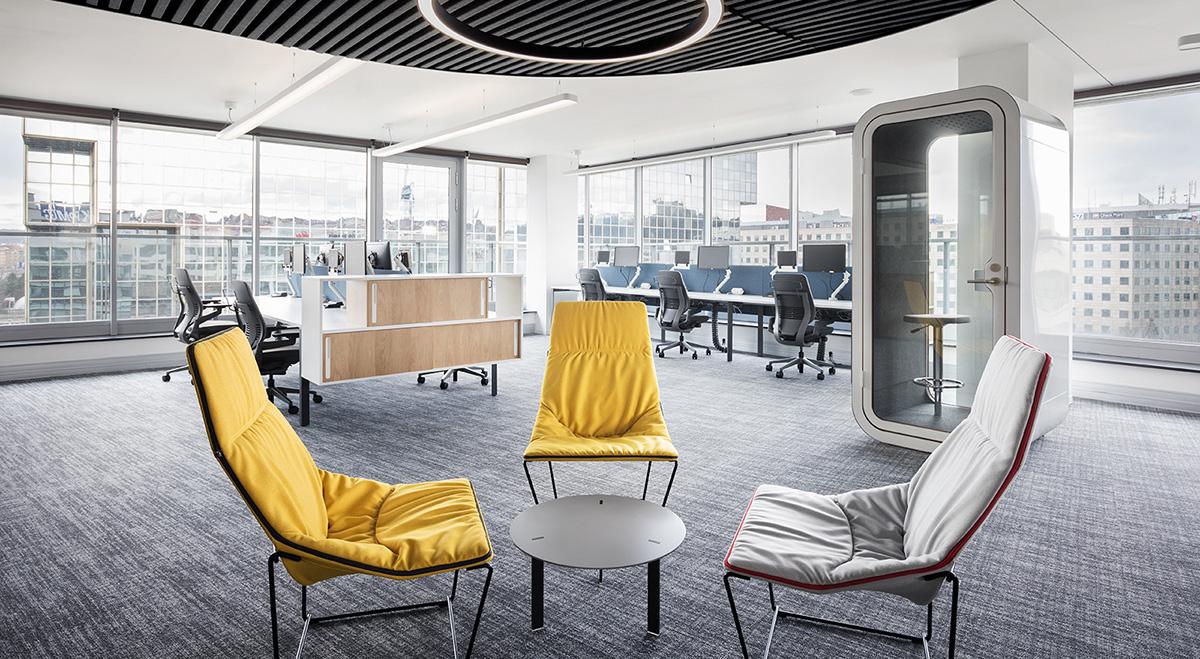 A Look Inside KPMG's Modern Prague Office