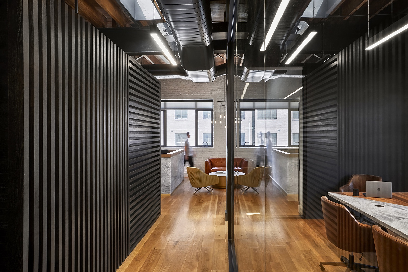 Inside private boutique law firm office in brooklyn - Austin interior design firms ...
