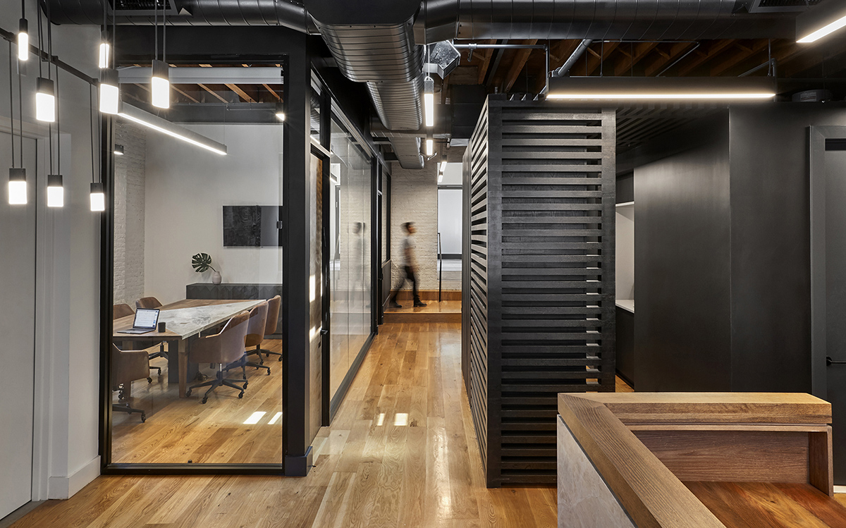Inside Private Boutique Law Firm Office in Brooklyn