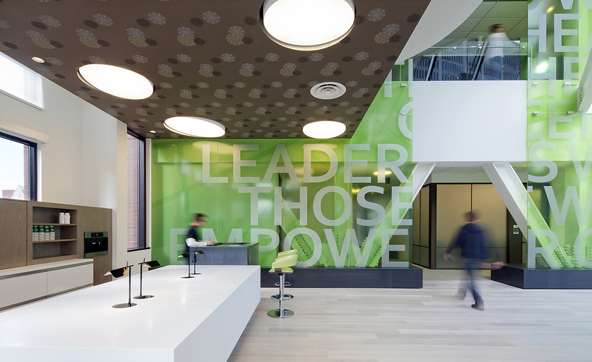 A Tour of Microsoft's Cool Cambridge Office
