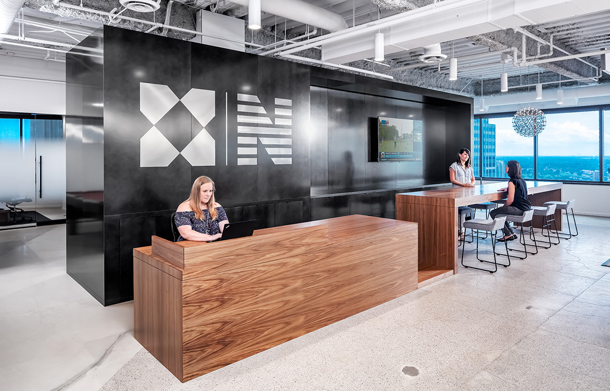 Inside Newmark Knight Frank's Modern Minneapolis Office