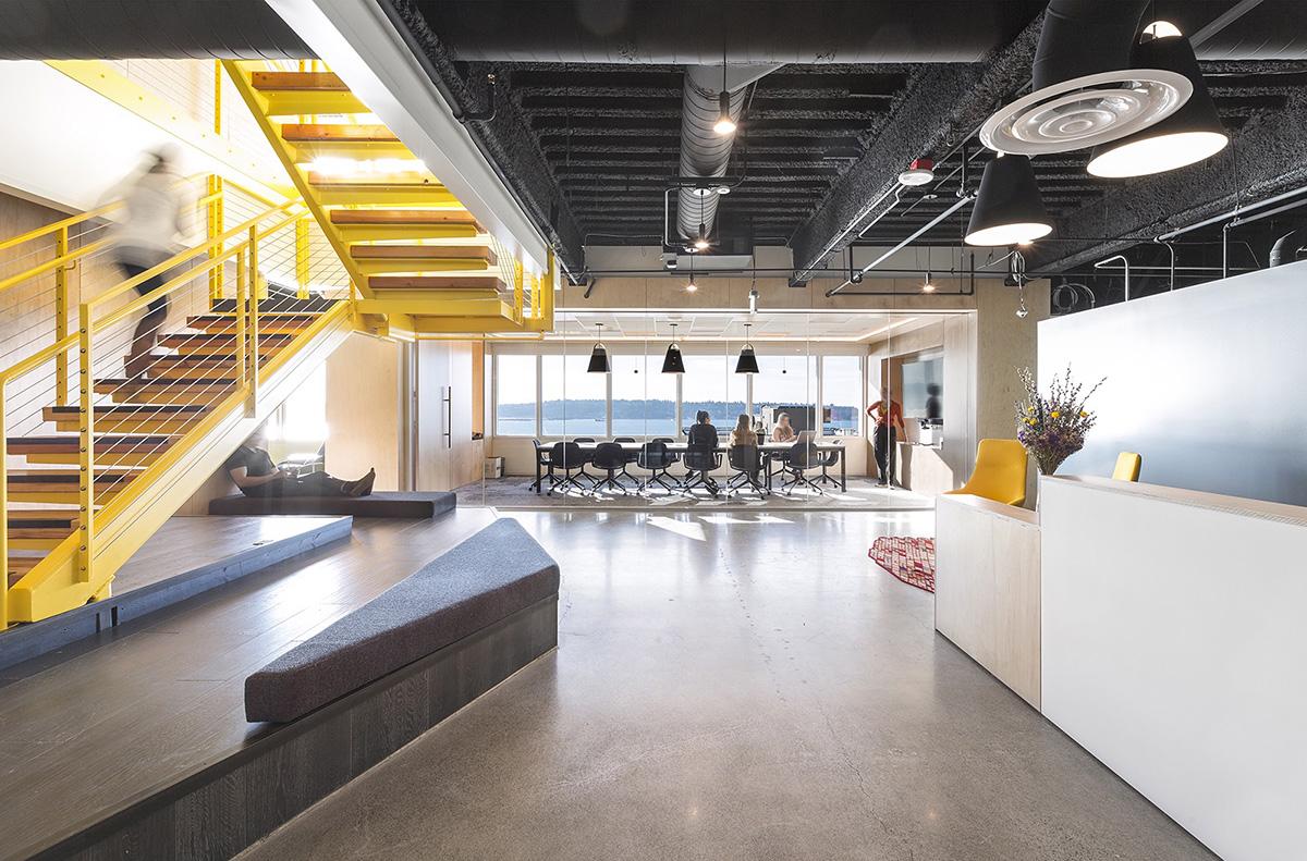 Inside Tech Media Company Offices in Seattle