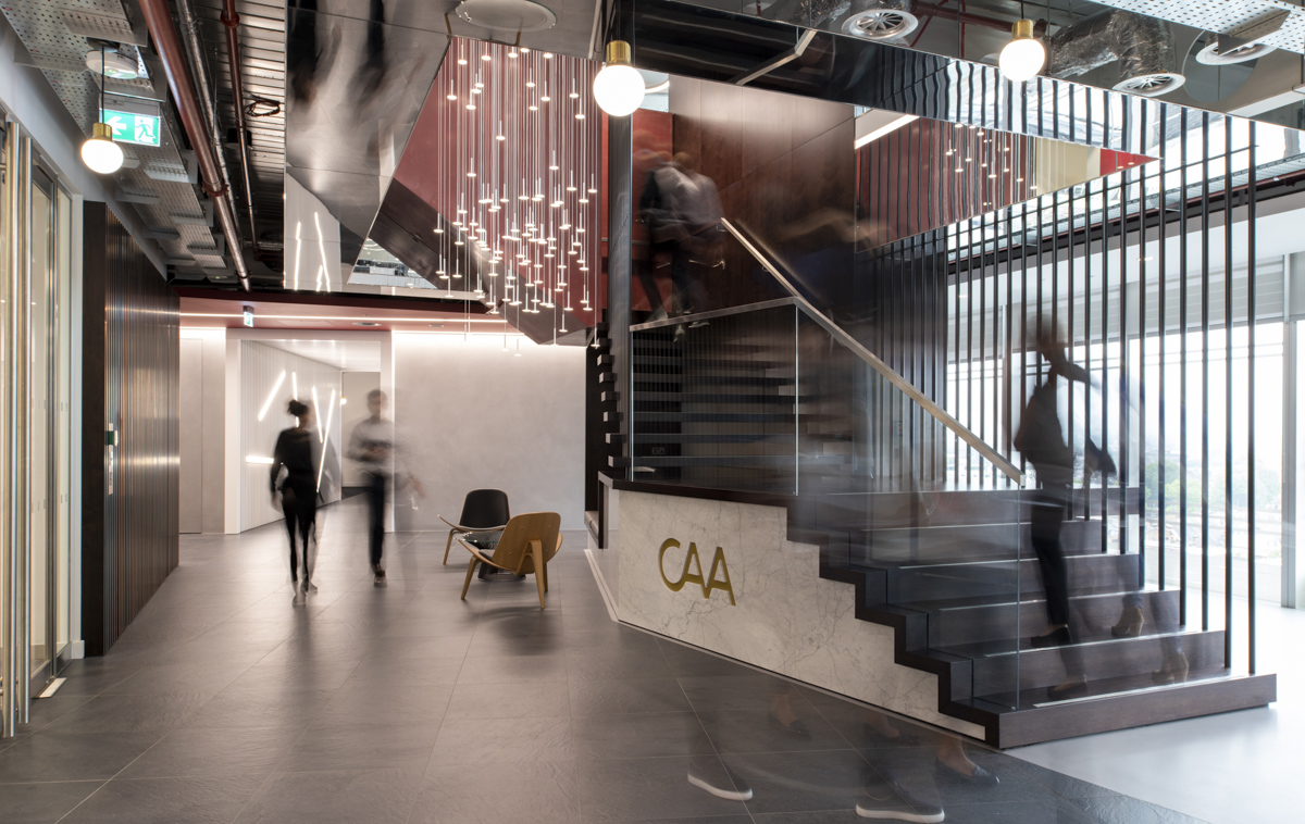 A Tour of Creative Artists Agency's Stylish London Office