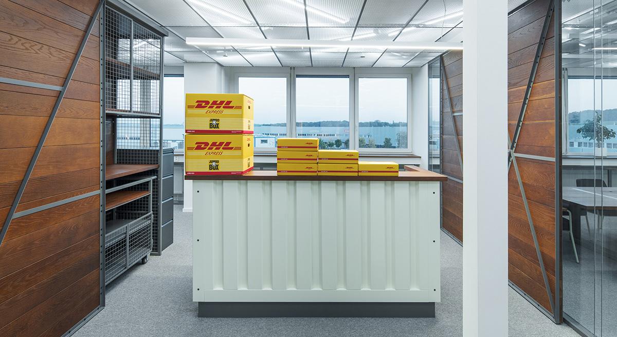 Step Inside DHL's Minimalist Prague Office