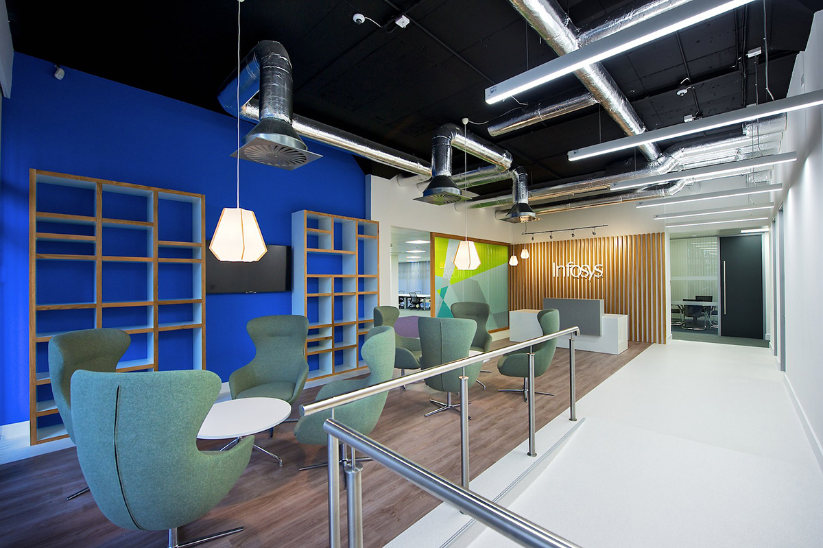 A Look Inside Infosys' Modern Dublin Office