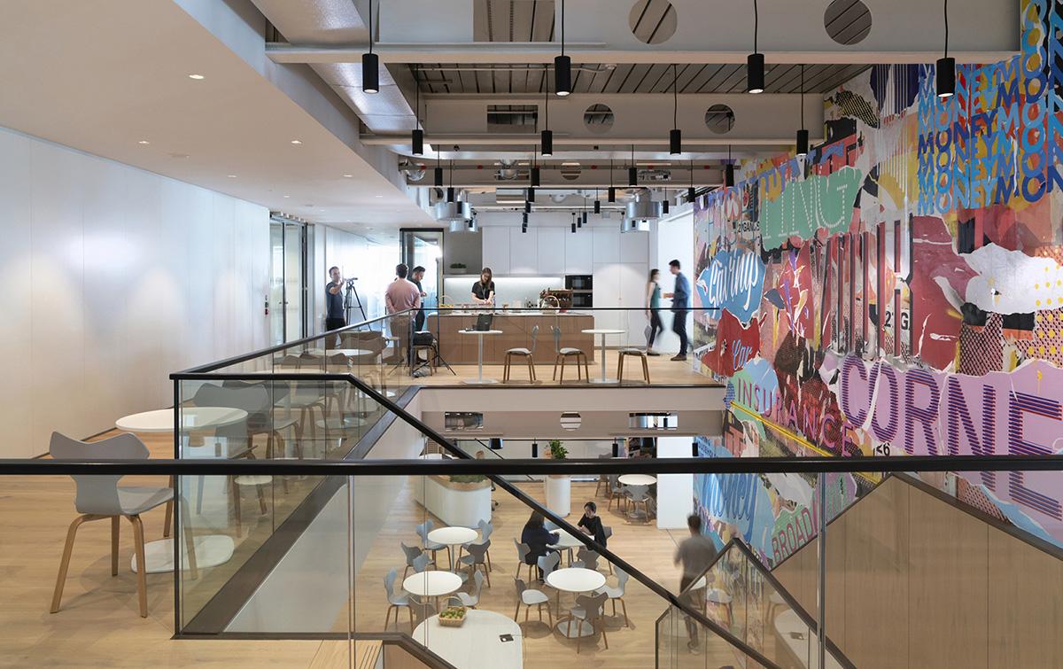 Behind The Scenes of MoneySuperMarket's New London Office