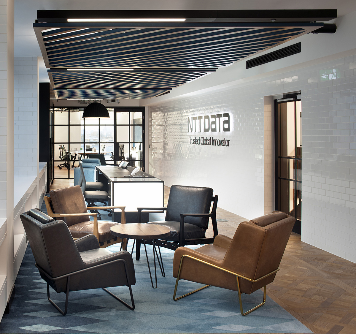 A Look Inside NTT Data's New London Office