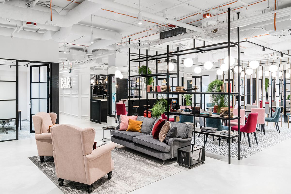 Inside Solutions Rent's Warsaw Coworking Space
