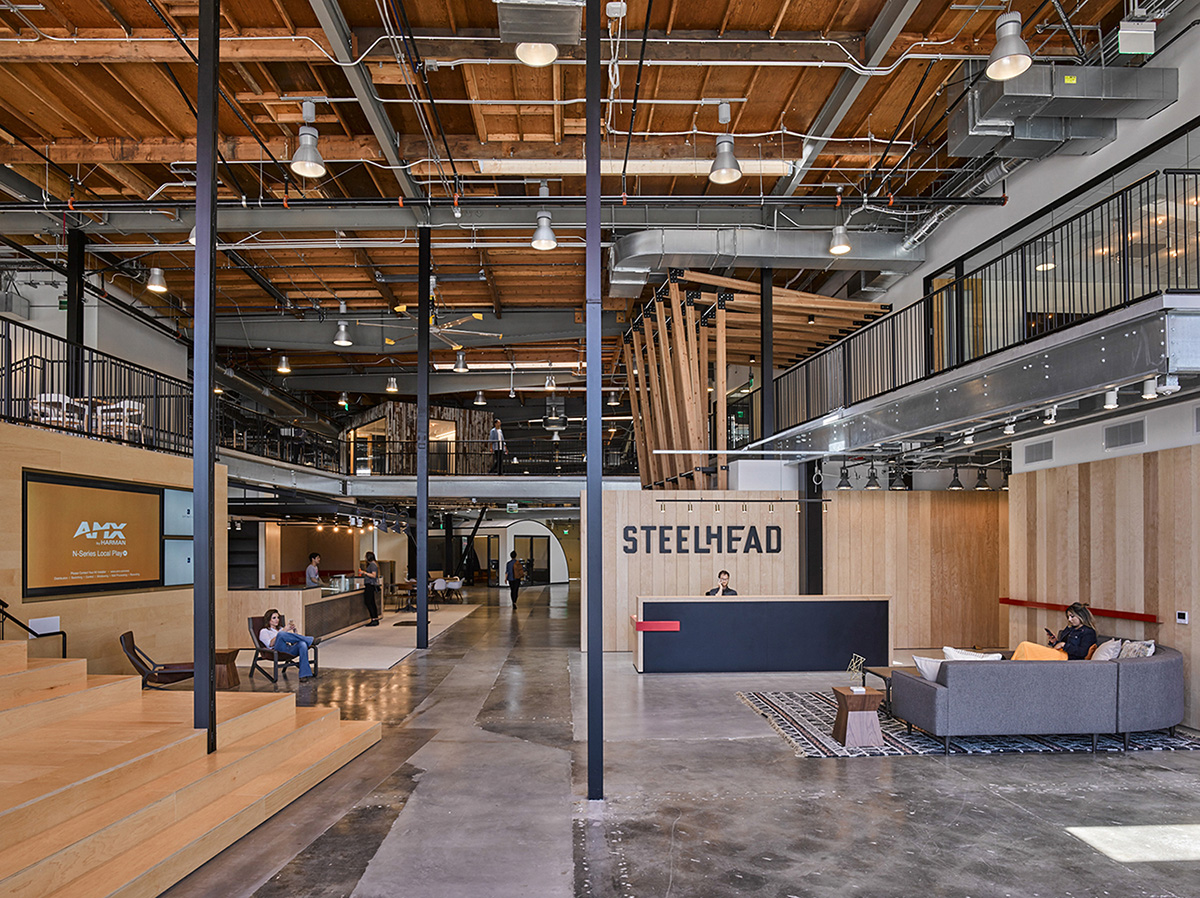 A Tour of Steelhead Productions' Modern Los Angeles Office