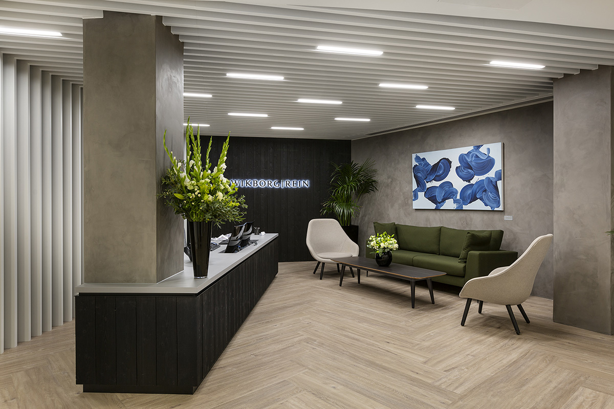 Inside The New Offices of Wikborg Rein in London