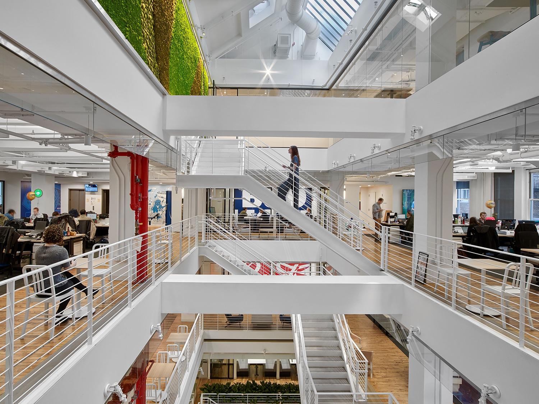 A Tour Of Anheuser Busch S New York City Office Officelovin