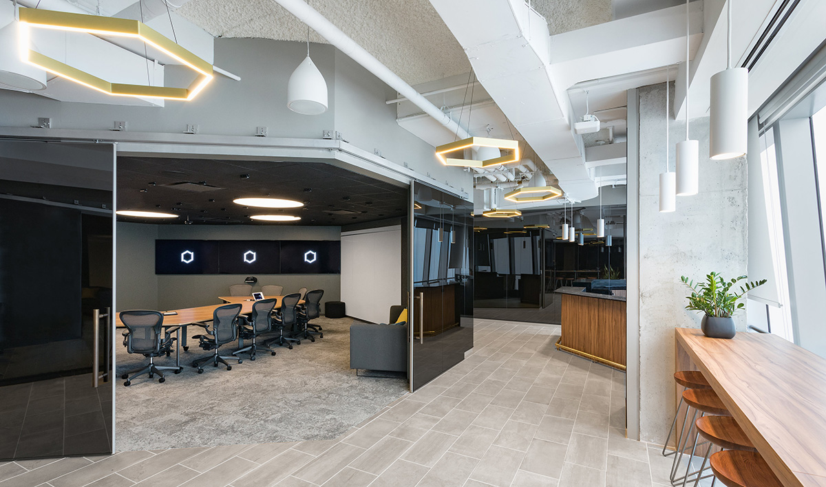 A Tour of BCG Digital Ventures' Modern NYC Office