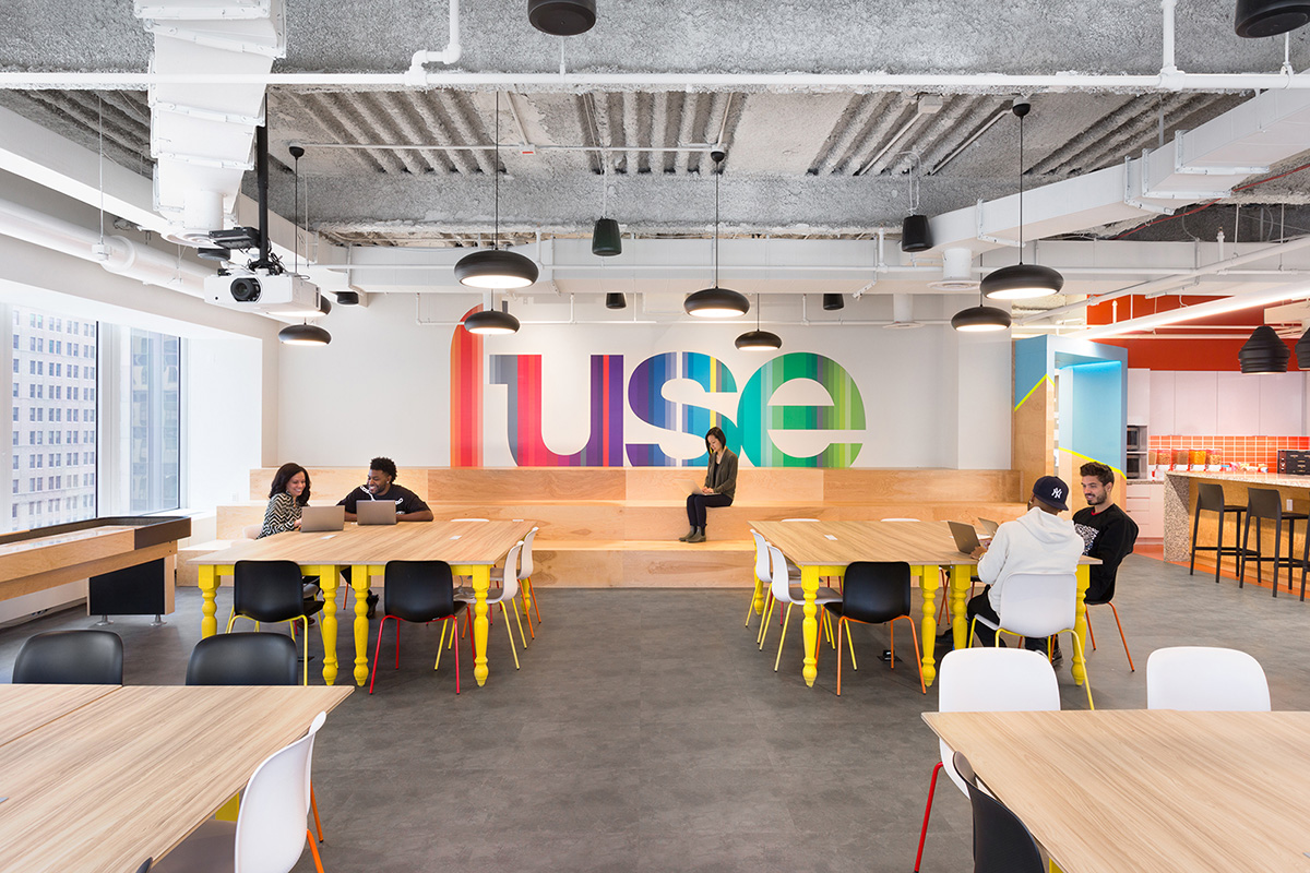 A Look Inside Fuse's Modern Headquarters in New York City