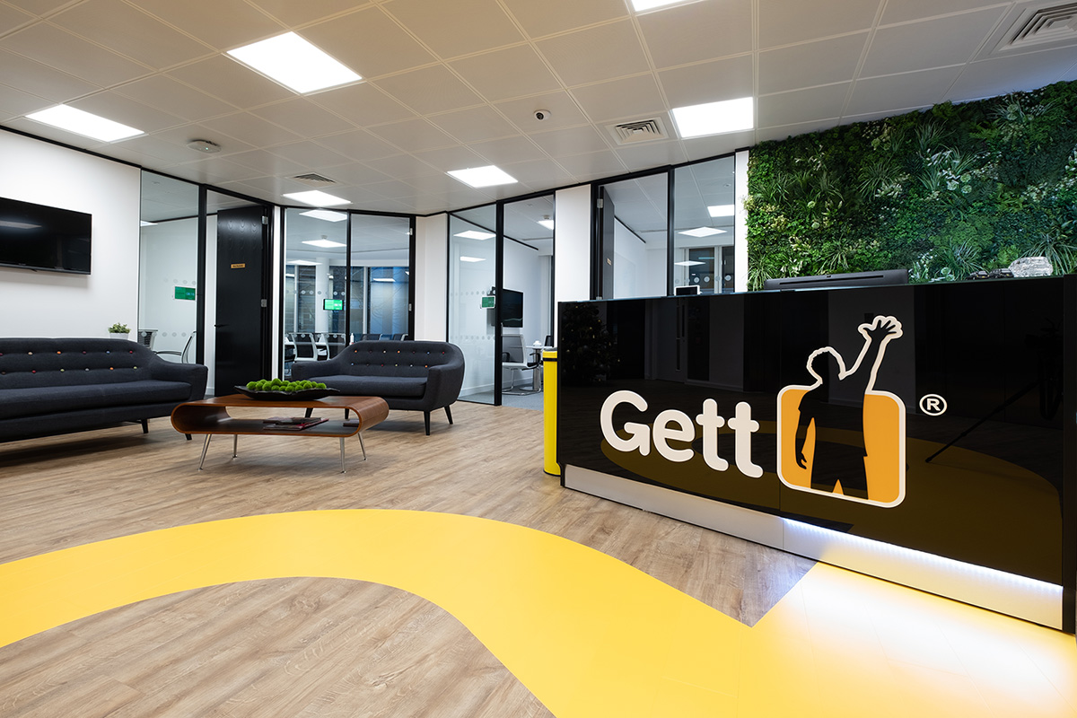 A Look Inside Gett's New London Office