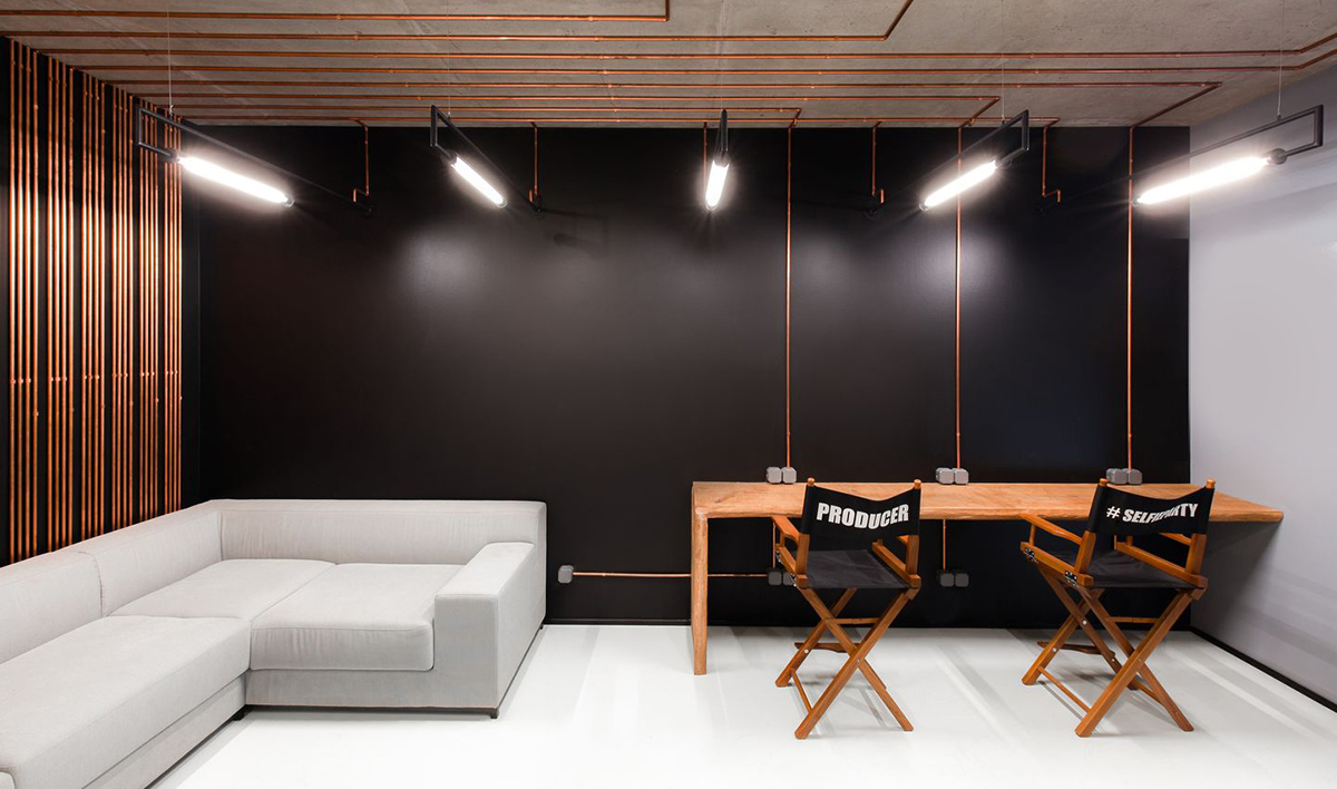 Inside G.H.Q. Moviemaker's Modern Kiev Office