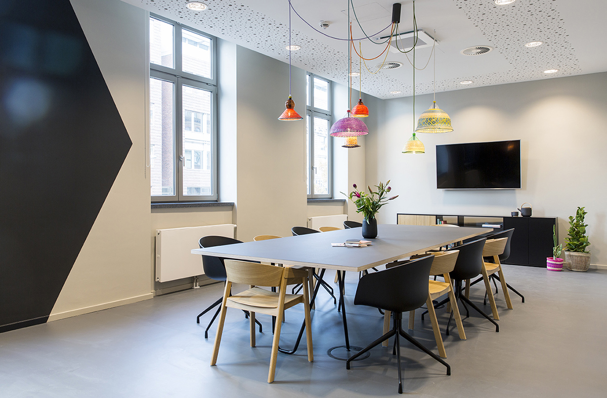 A Peek Inside MOIA's Minimalist Hamburg Office