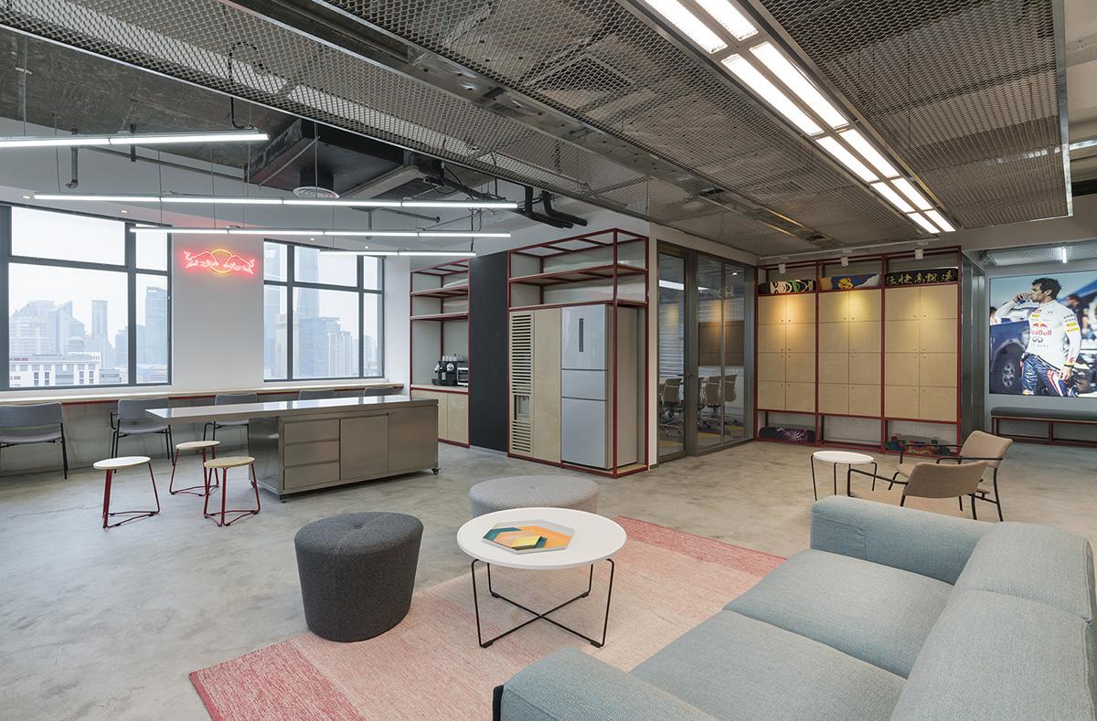 A Look Inside Red Bull's Modern Shanghai Office