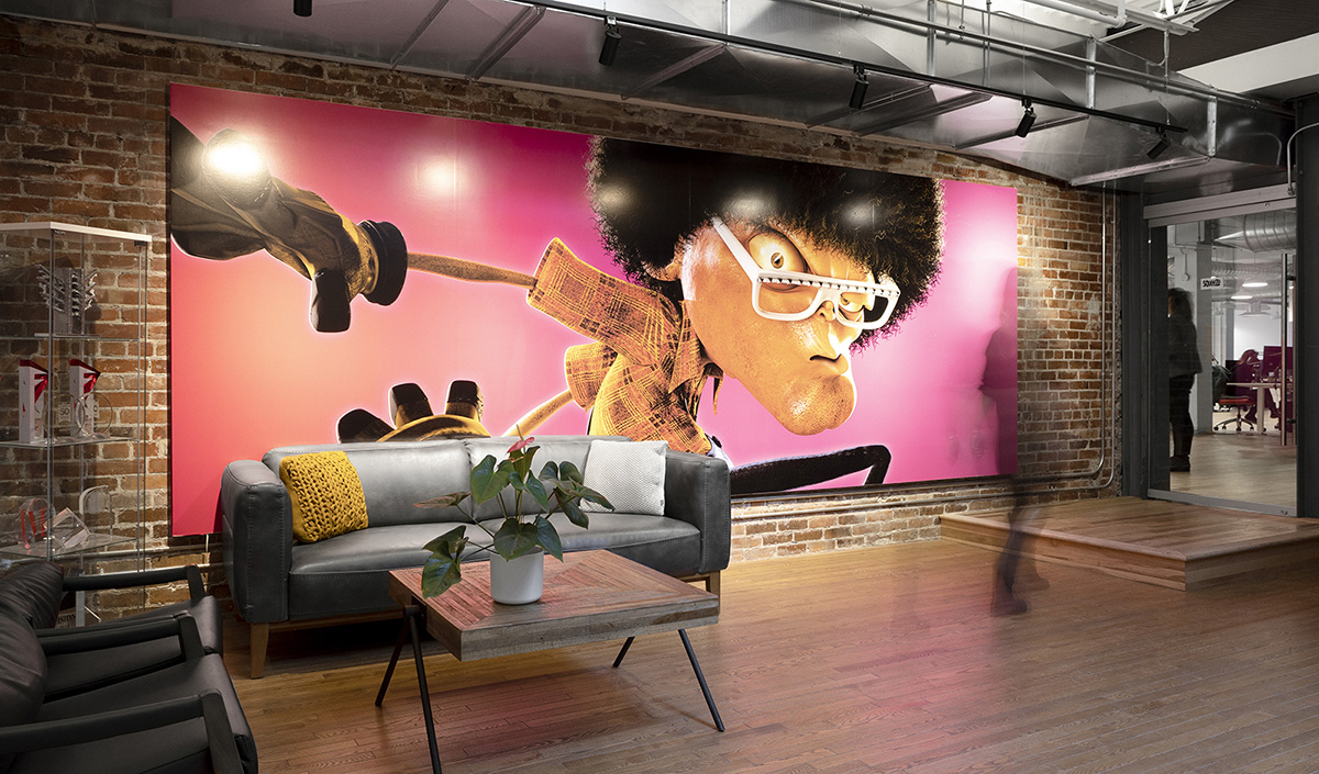 A Peek Inside Squeeze Studio Animation's Cool Quebec Office