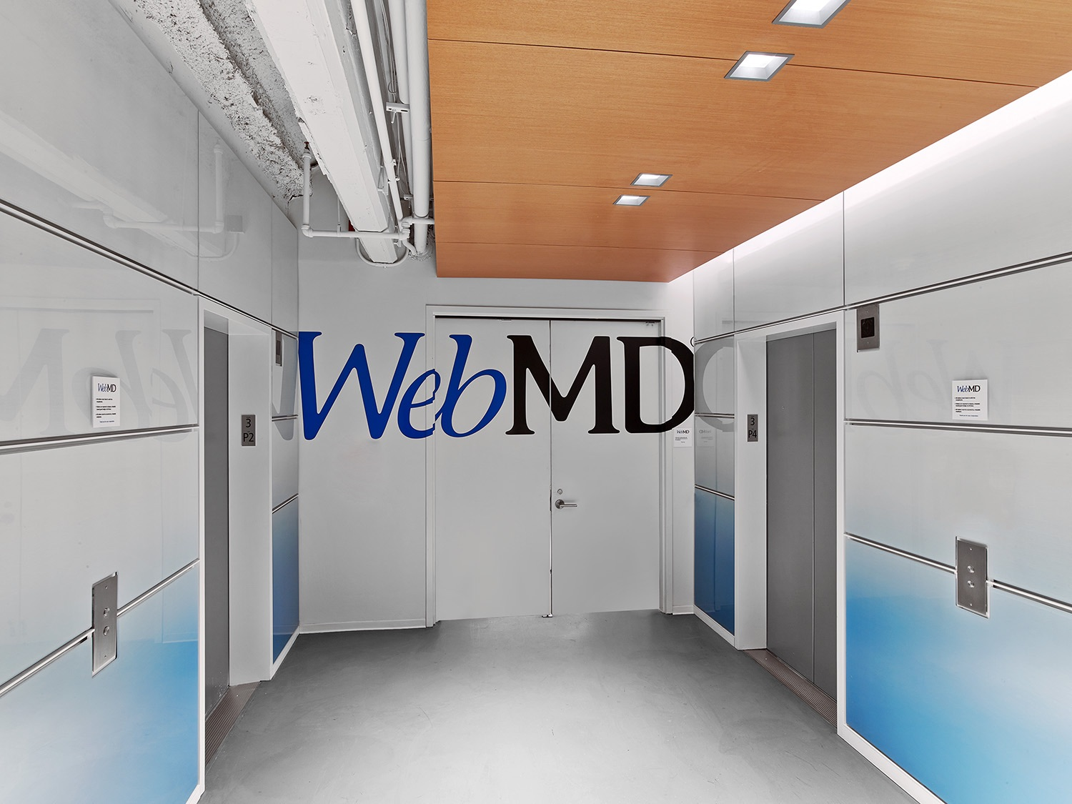 A Tour of WebMD's Modern New York City Office - Officelovin'