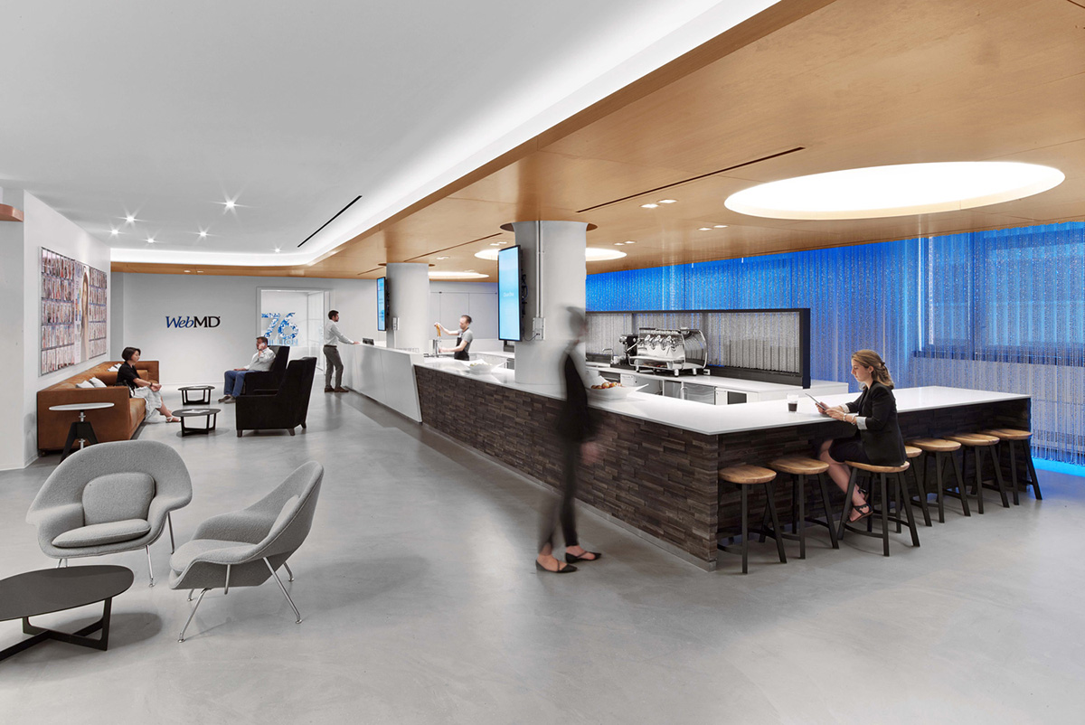 A Tour of WebMD's Modern New York City Office