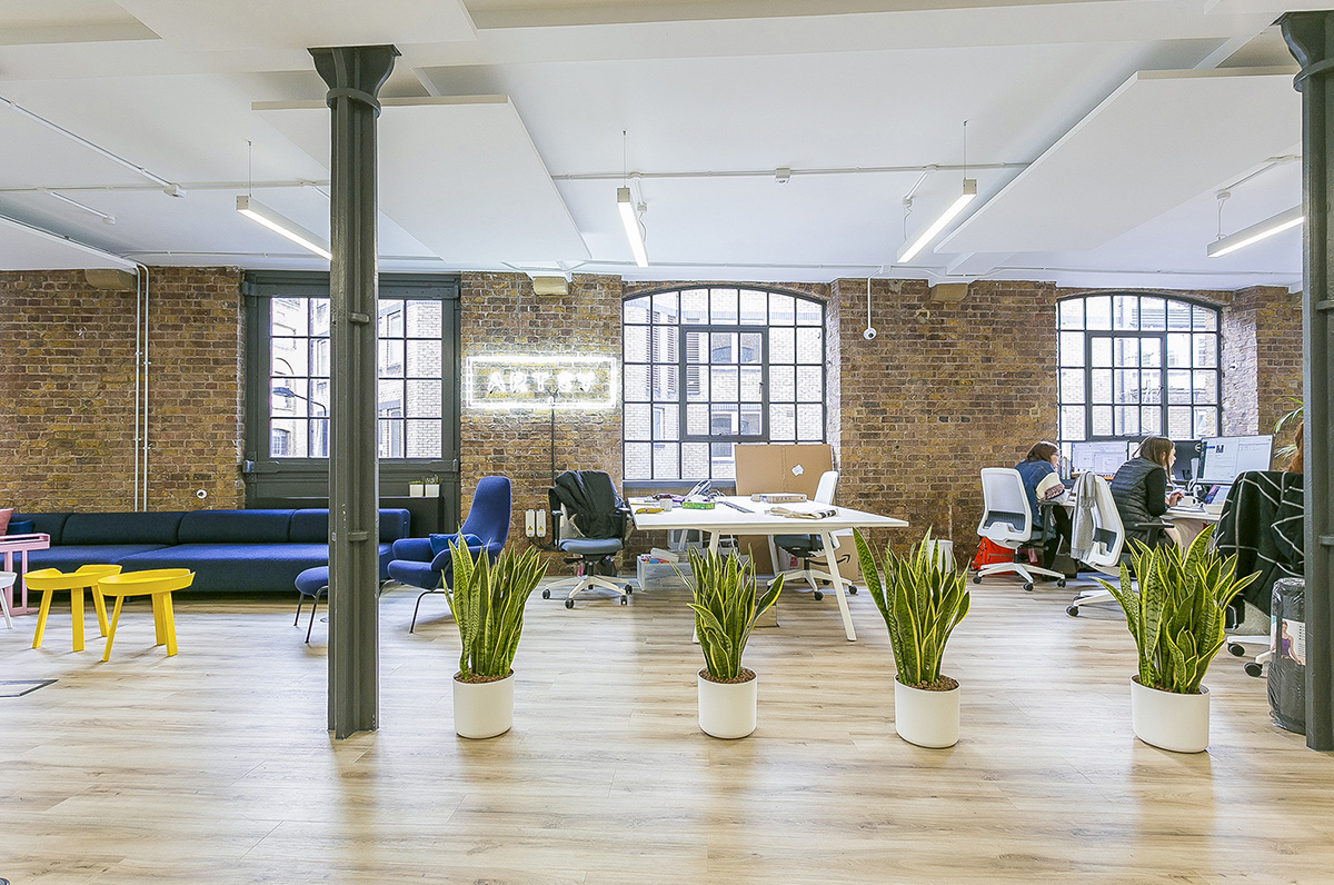 A Look Inside Artsy's Open-Plan London Office