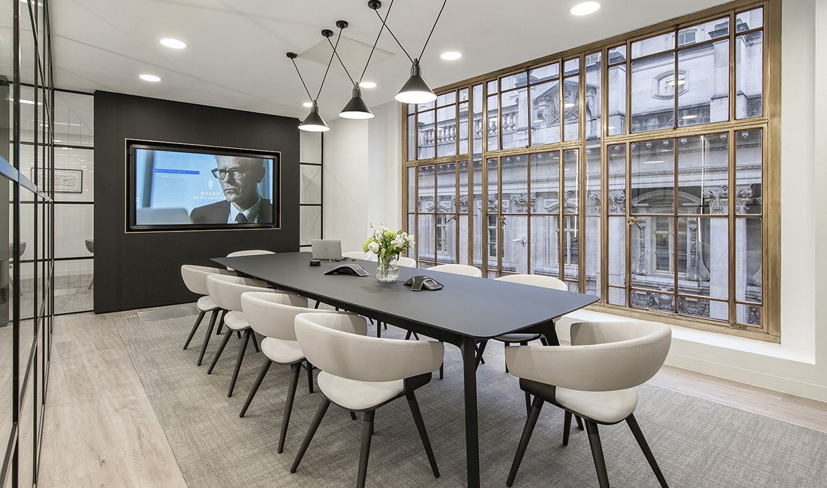 Take a Look Inside Board Intelligence's Elegant London Office