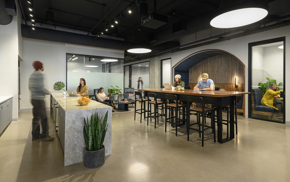 A Tour of CommonGrounds' New Denver Coworking Space