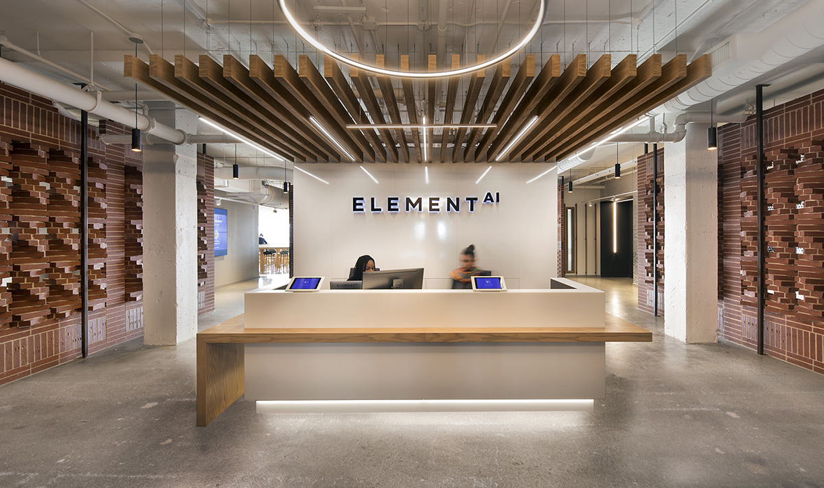 Inside The New Offices of Element AI in Montreal