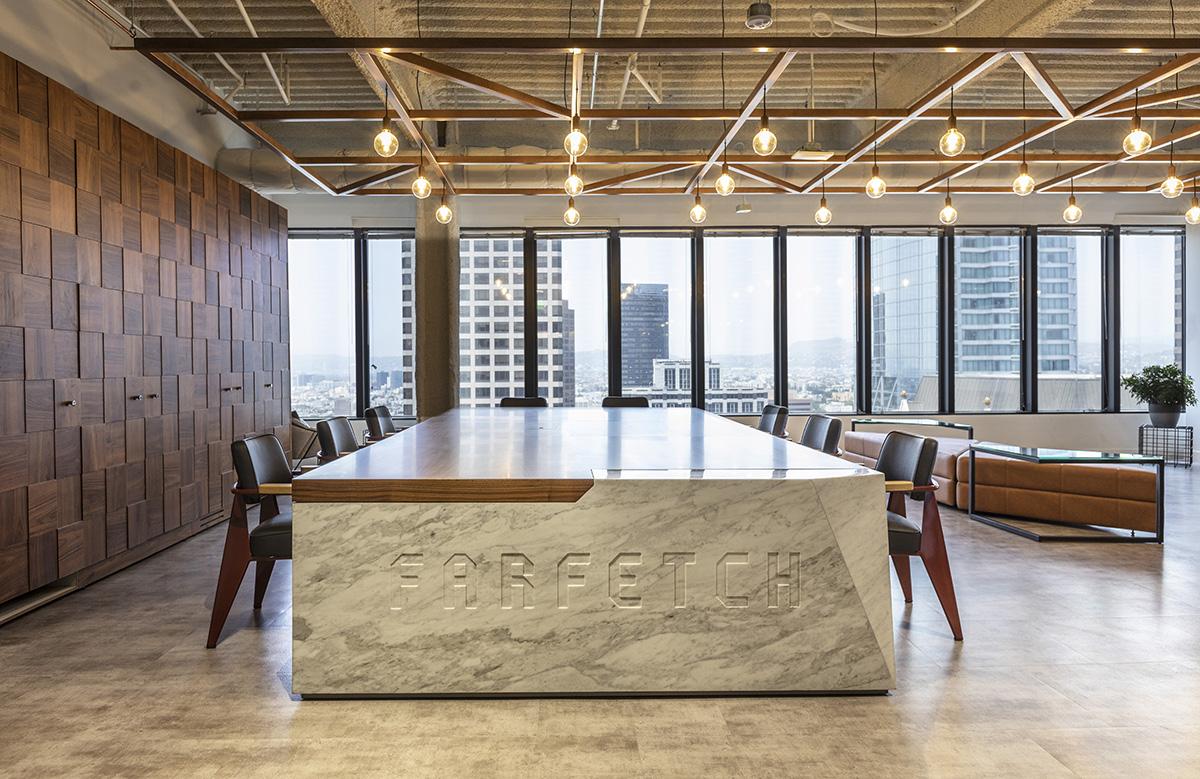 A Look Inside Farfetch's New Los Angeles Office