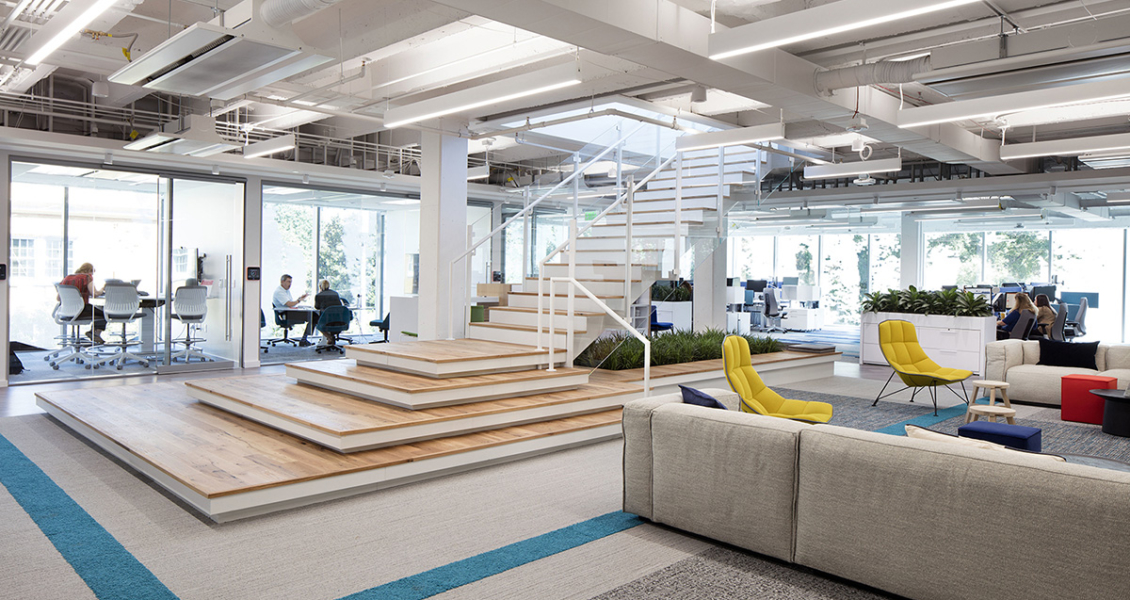A Tour of Interface's Modern New Office in Atlanta