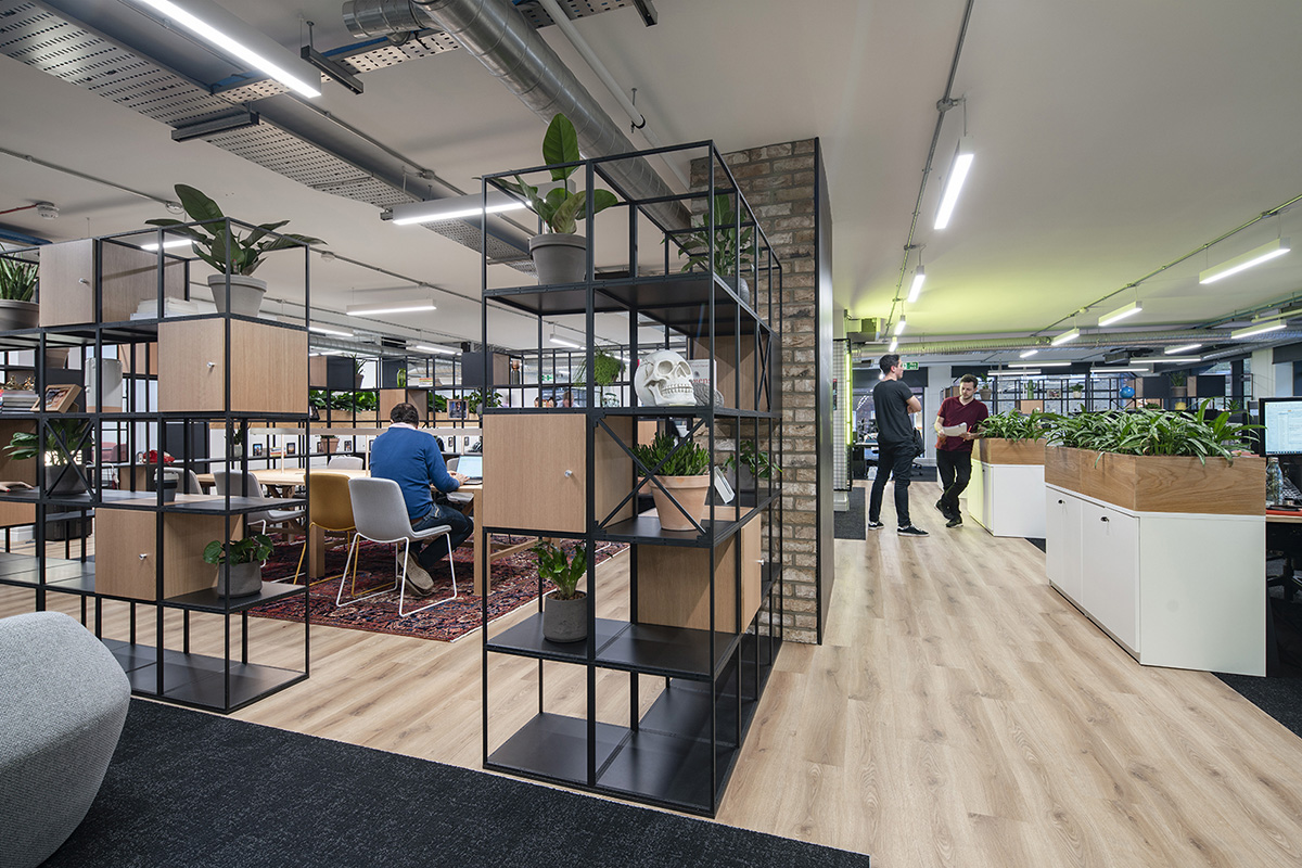 Inside Total Media's Biophilic London office