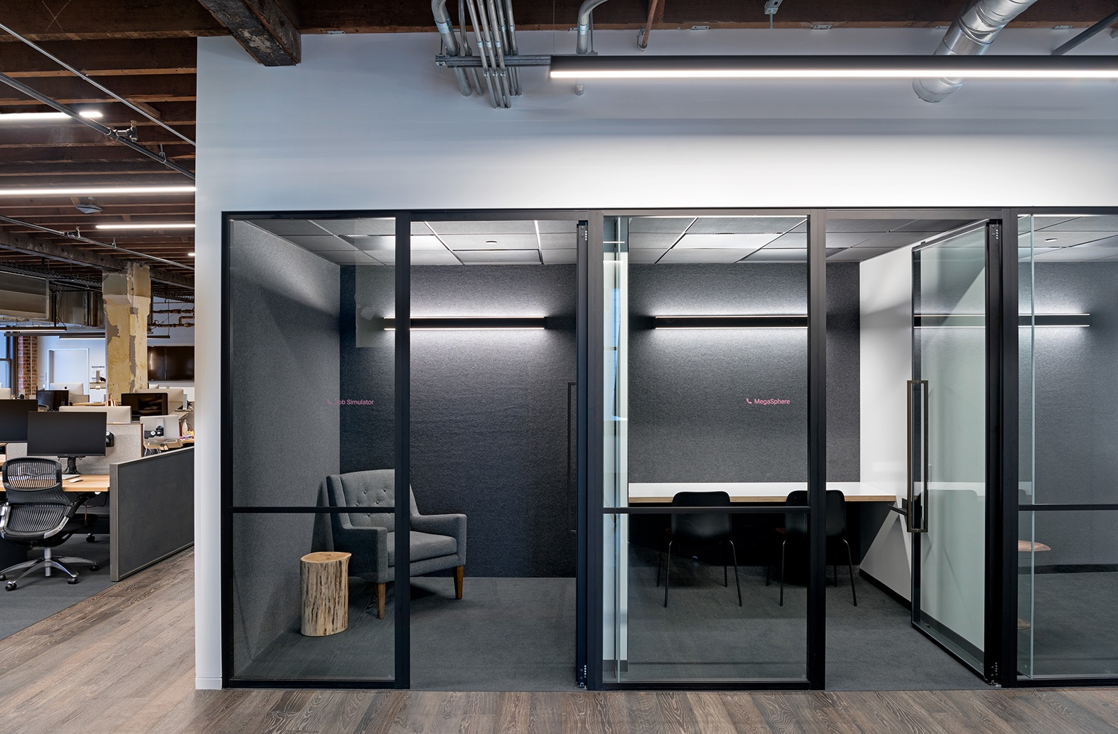 A tour of unity s industrial style headquarters in san for Sf contact nackenkissen small