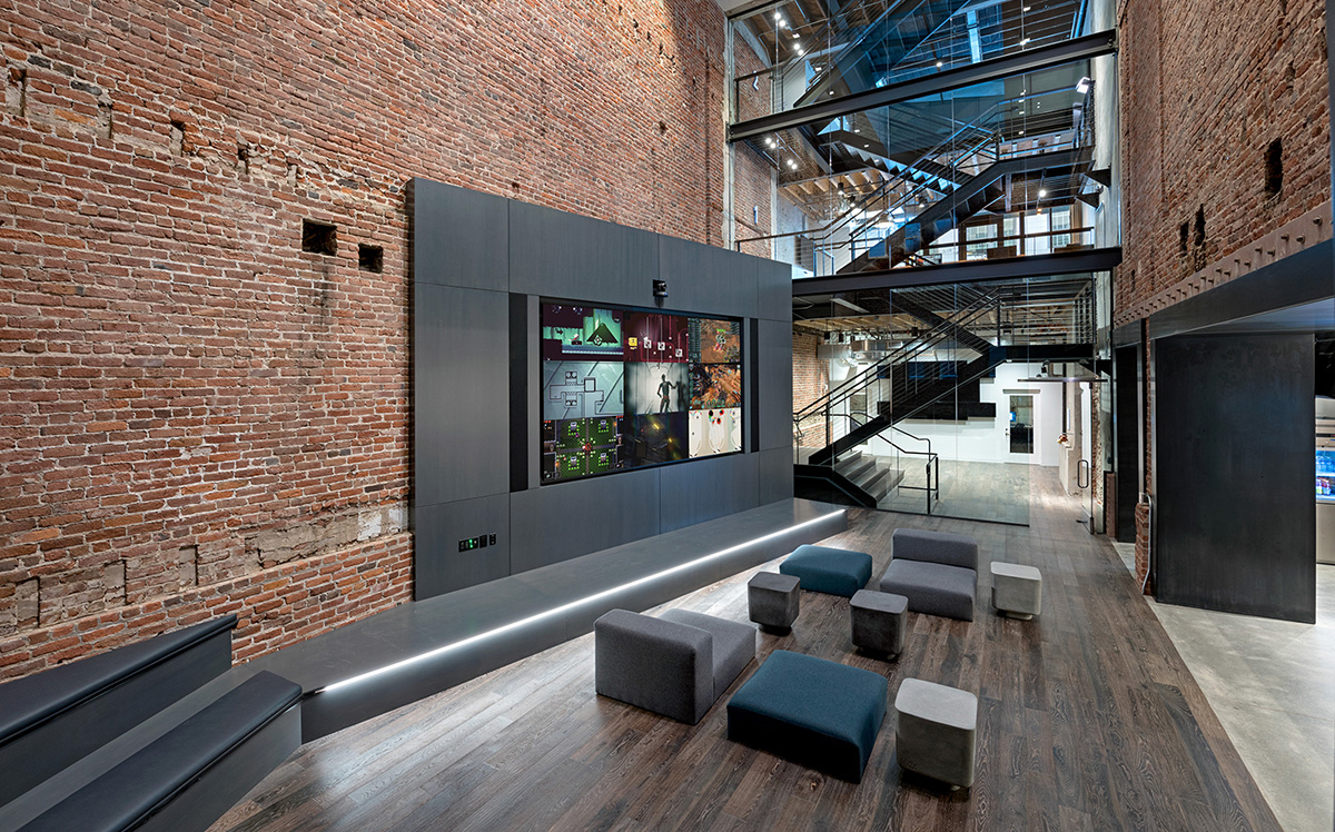 A Tour of Unity's Industrial-Style Headquarters in San Francisco