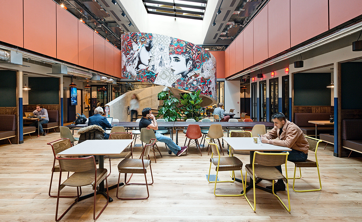 A Tour of WeWork's London Coworking Space – Corsham Street