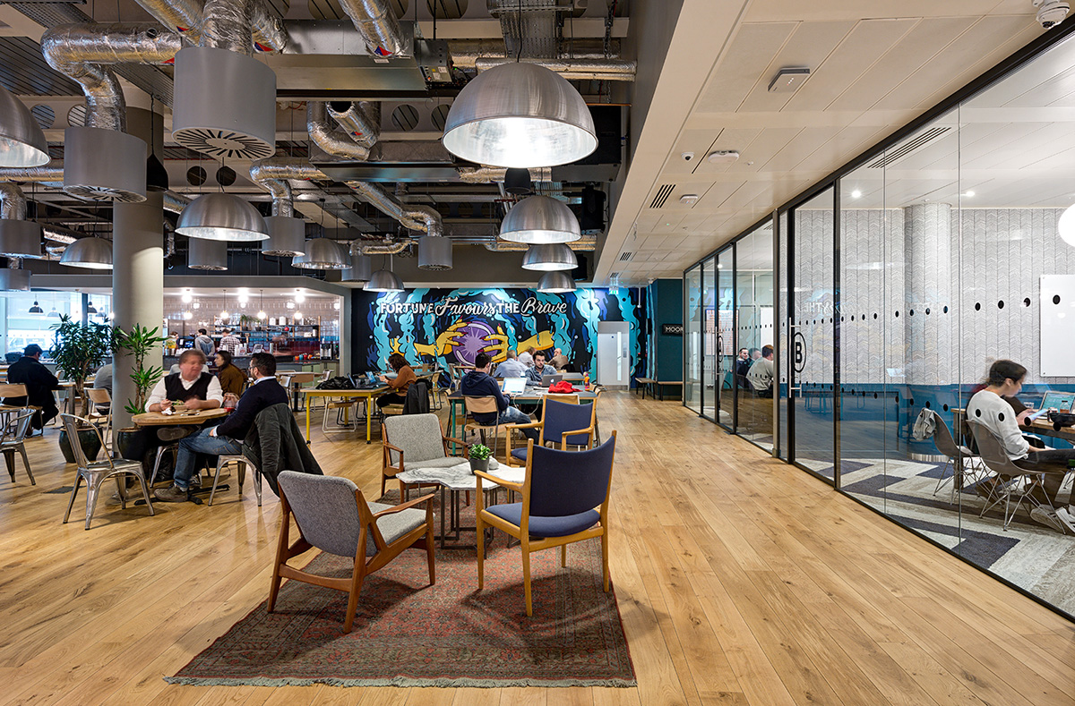 A Tour of WeWork – Moorplace