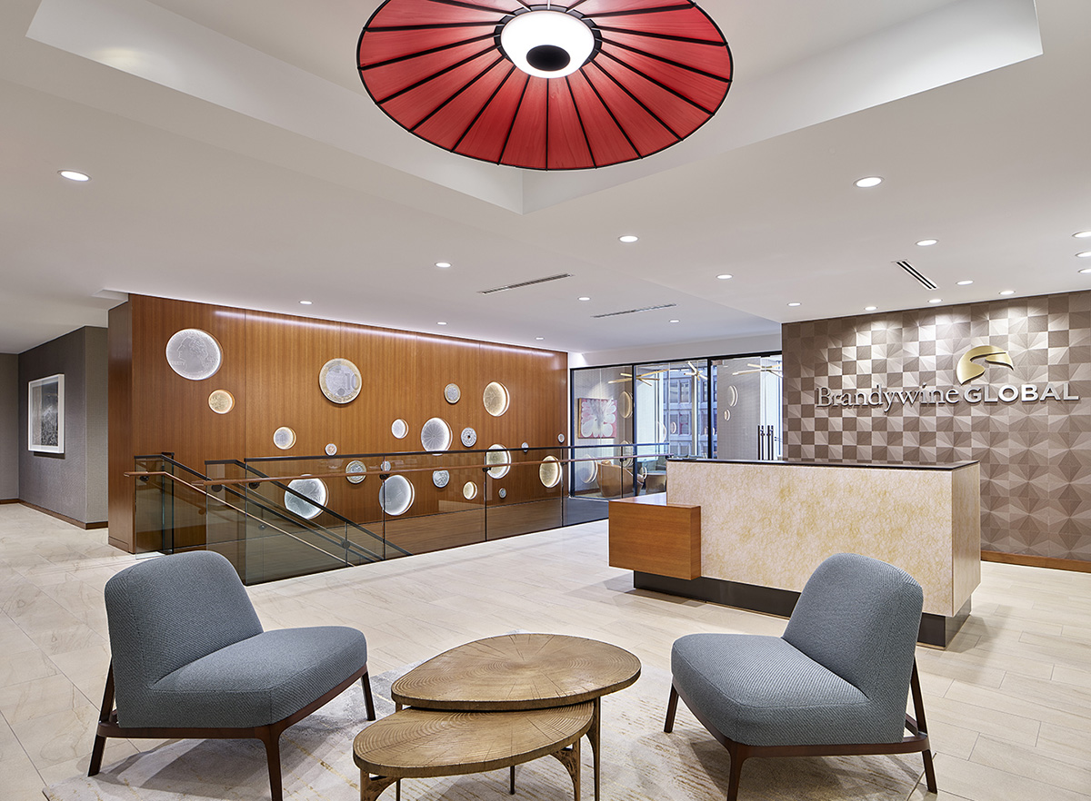 Inside Brandywine Global Investment Management's Elegant Philadelphia Office