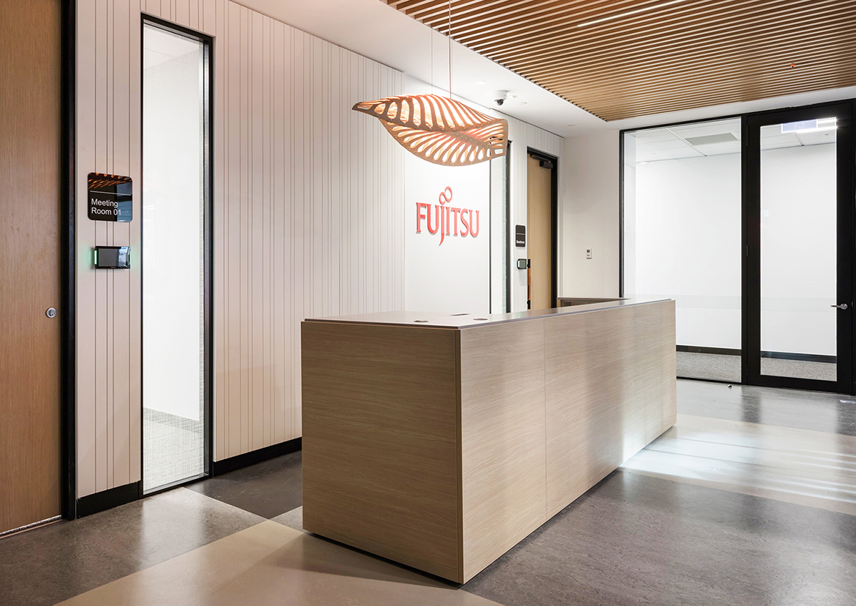 A Look Inside Fujitsu's Elegant New Auckland Office