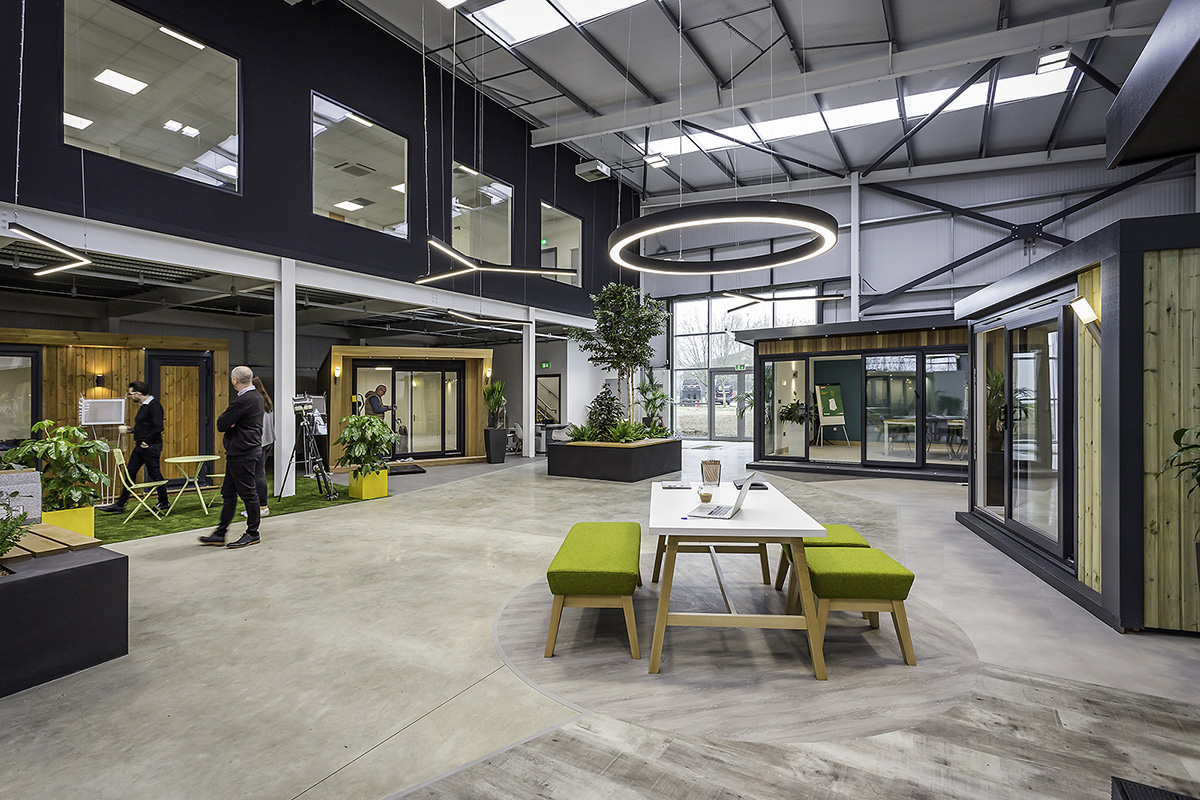 A Look Inside Green Retreats' Biophilic Aylesbury Office