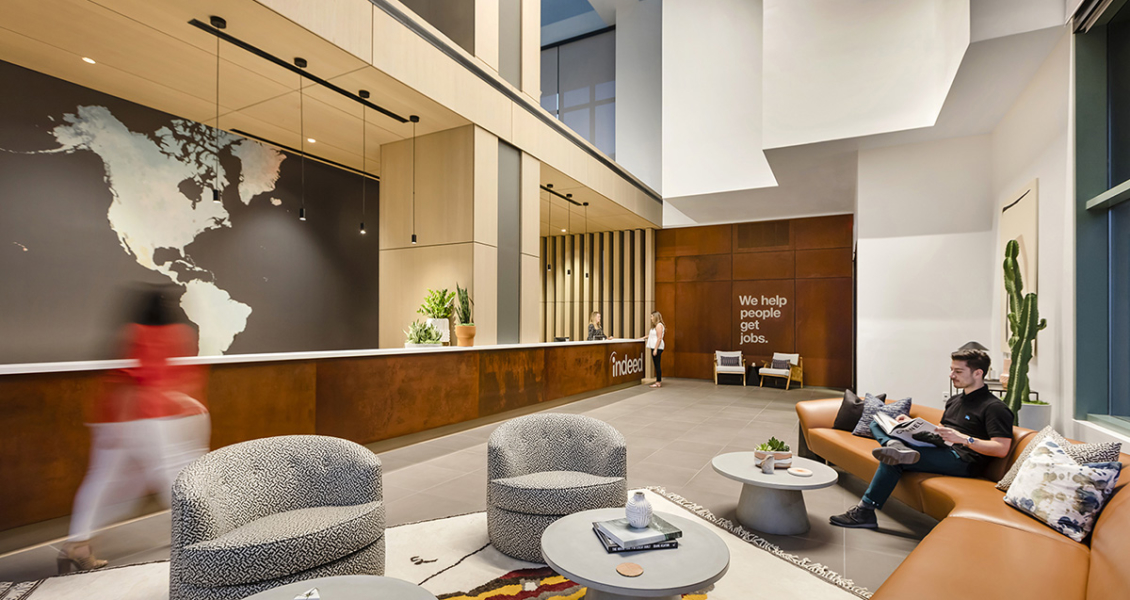 A Tour of Indeed's Sleek New Scottsdale Office