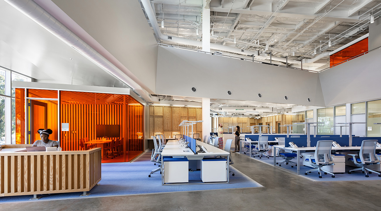 A Look Inside KCRW's New Santa Monica Office